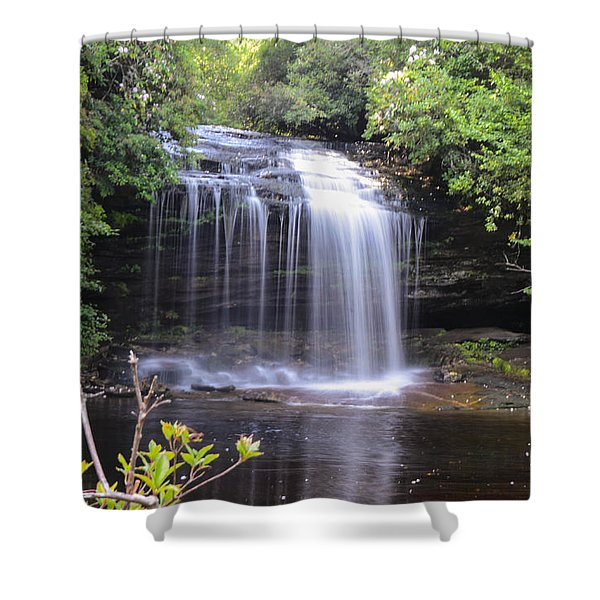 School House Falls Shower Curtain