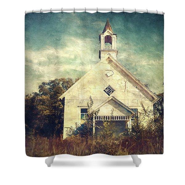 Schoolhouse 1895 Shower Curtain