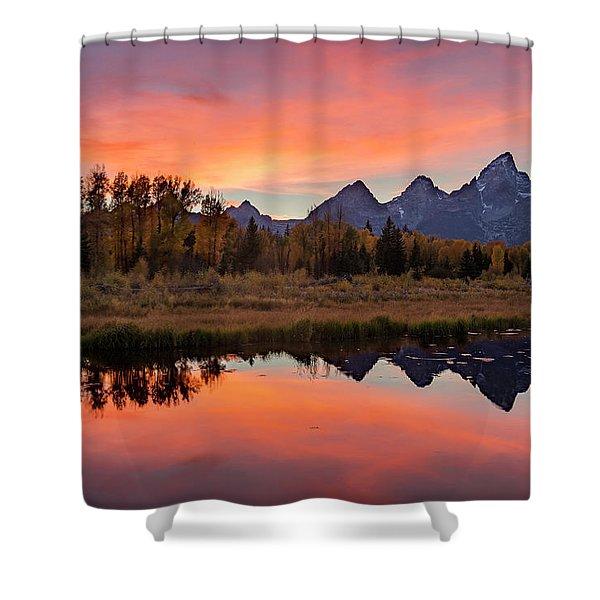 Schwabacher Sunset 2 Shower Curtain