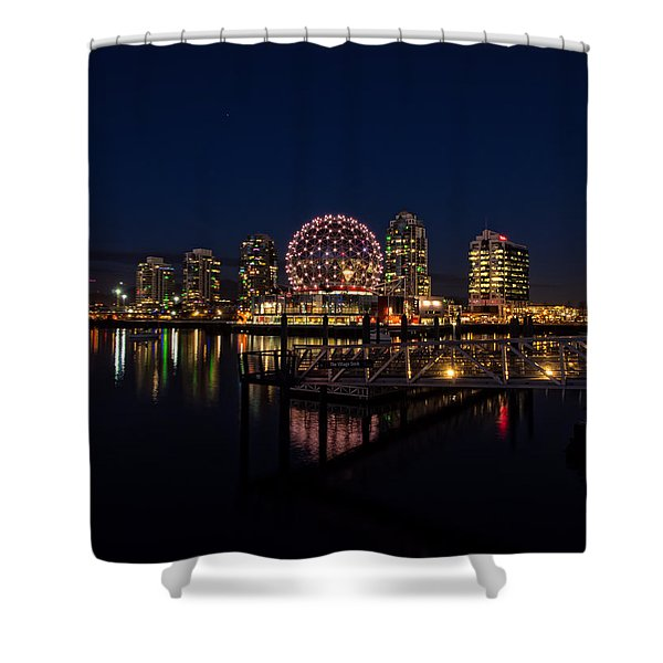 Science World Nocturnal Shower Curtain