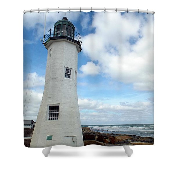 Scituate Light Shower Curtain