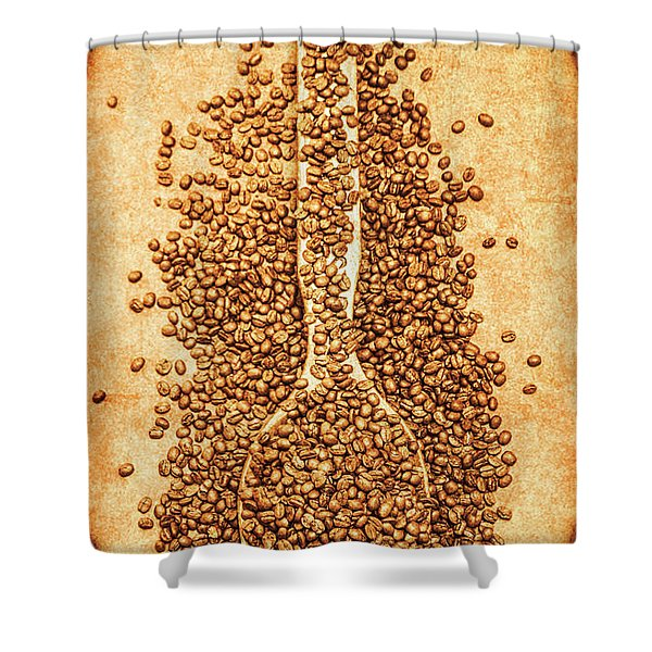 Scoop Of Nostalgia At The Coffee Bean Store Shower Curtain