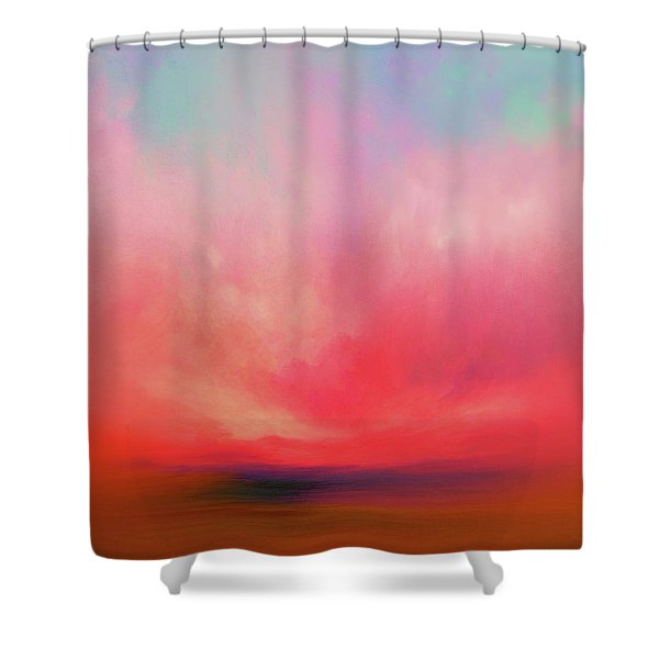 Scorch Shower Curtain