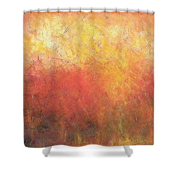 Scorched Shower Curtain