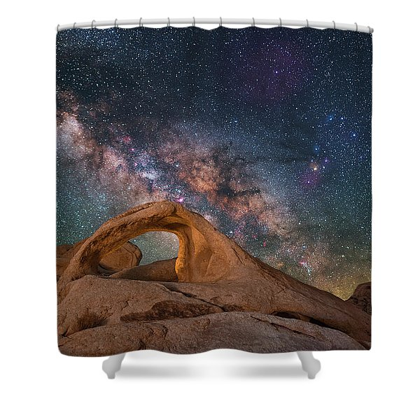 Scorpius And Its Arch Shower Curtain