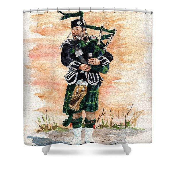 Scotland The Brave Shower Curtain