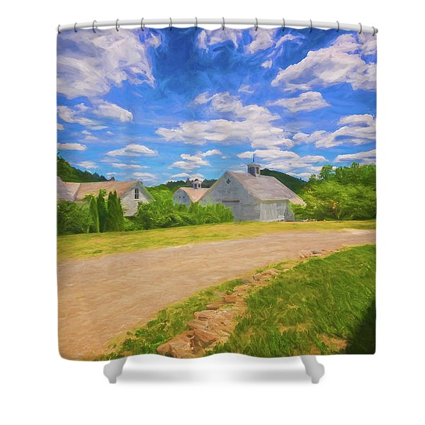 Scott Farm Vista Shower Curtain