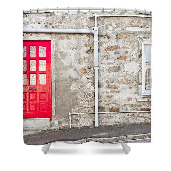 Scottish House Shower Curtain