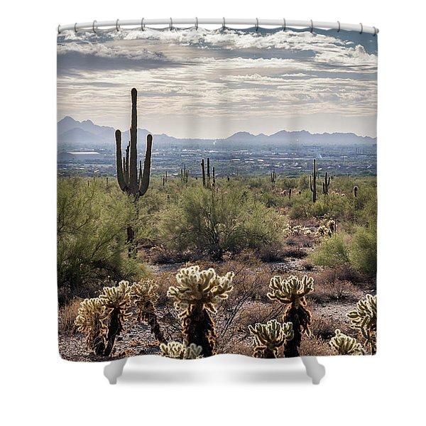 Scottsdale Arizona Shower Curtain