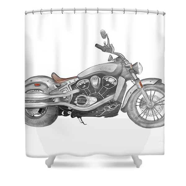 Scout 2015 Shower Curtain