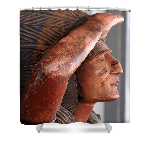 Scout - Close Up Shower Curtain