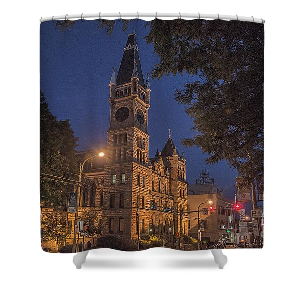 Scranton Pa City Hall Shower Curtain
