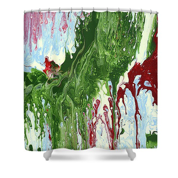 Screaming Shower Curtain