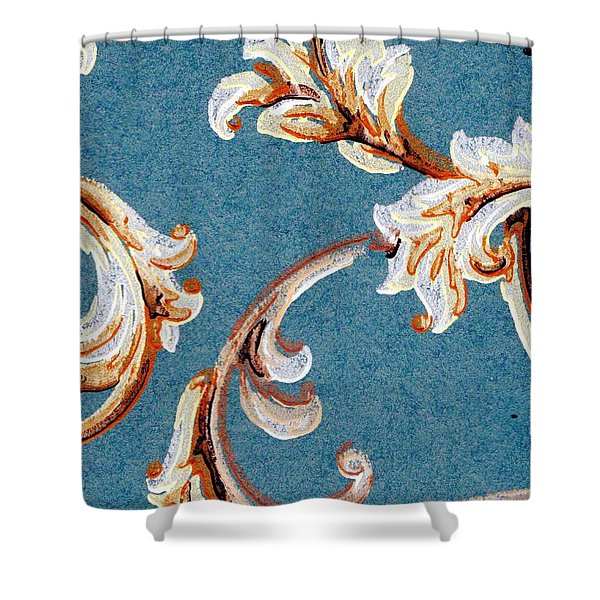 Scrolled Whimsy Shower Curtain