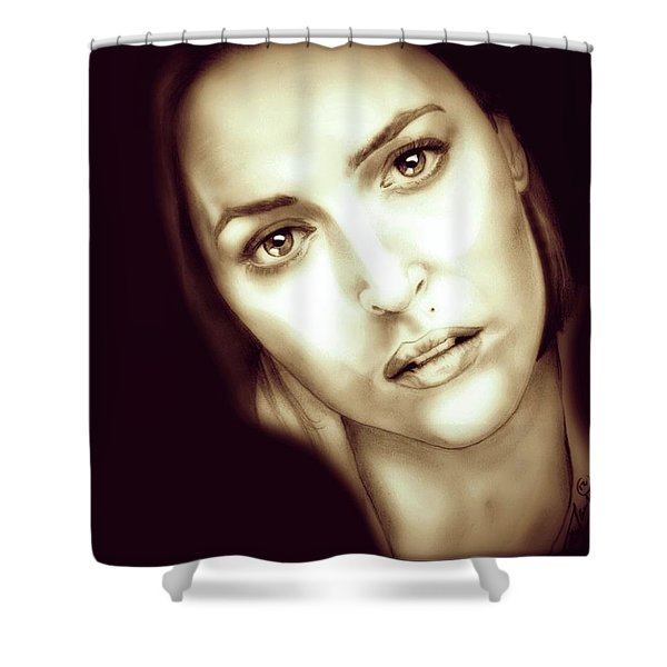 Scully Shower Curtain