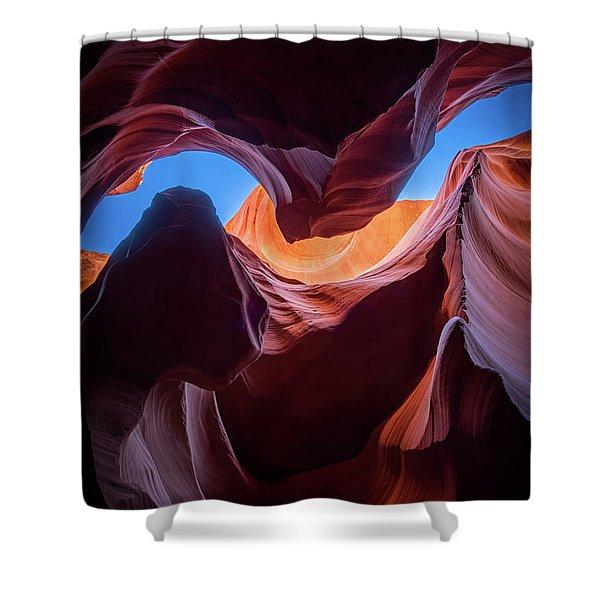 Sculptures Of Desert Shower Curtain