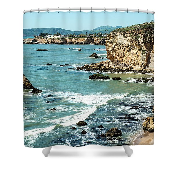 Sea And Cliffs Shower Curtain