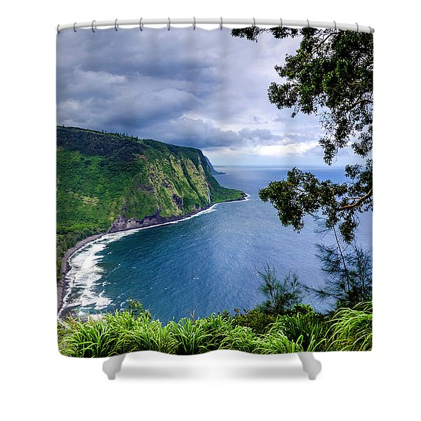 Sea Cliffs Shower Curtain