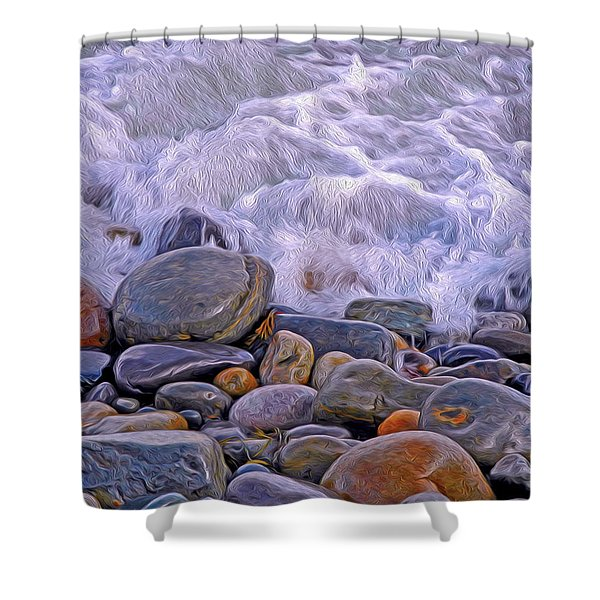 Sea Covers All  Shower Curtain