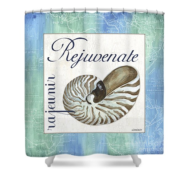 Sea Glass 1 Shower Curtain