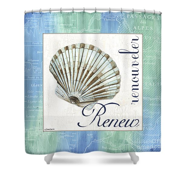 Sea Glass 2 Shower Curtain