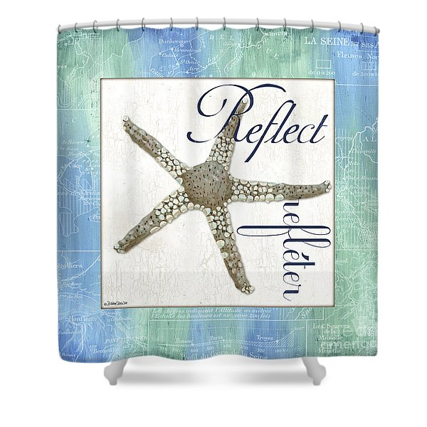 Sea Glass 3 Shower Curtain