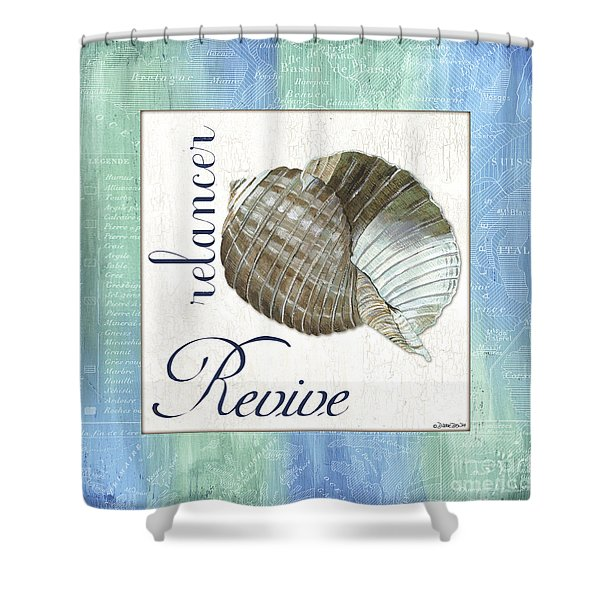 Sea Glass 4 Shower Curtain