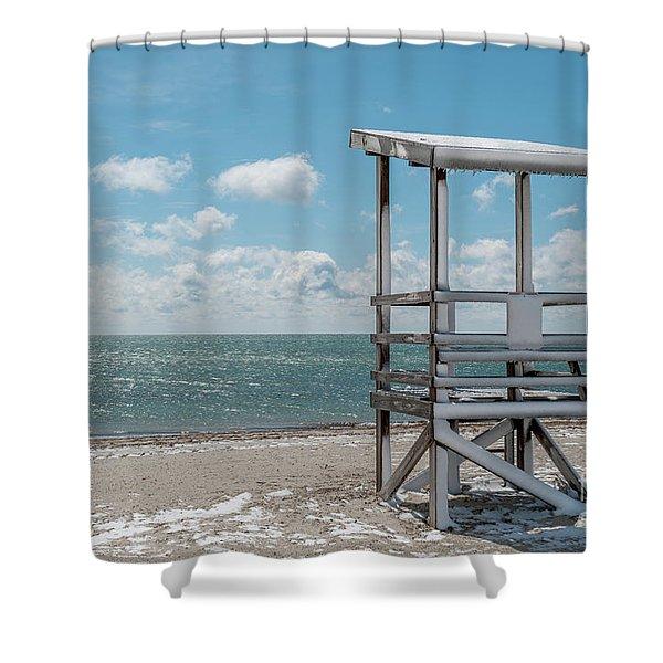 Sea Gull Beach #2 Shower Curtain
