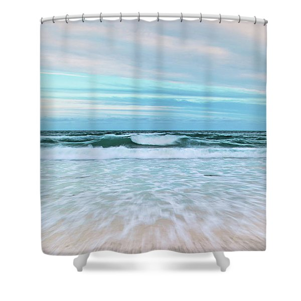 Sea Is Calling Shower Curtain
