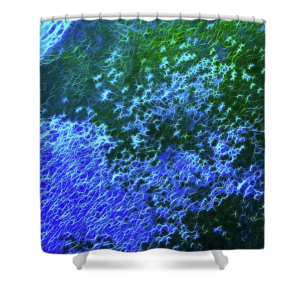 Sea Of Blue Shower Curtain