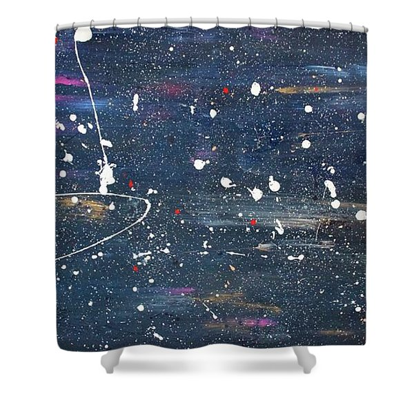 Shower Curtain featuring the painting Sea Of Love by Michael Lucarelli