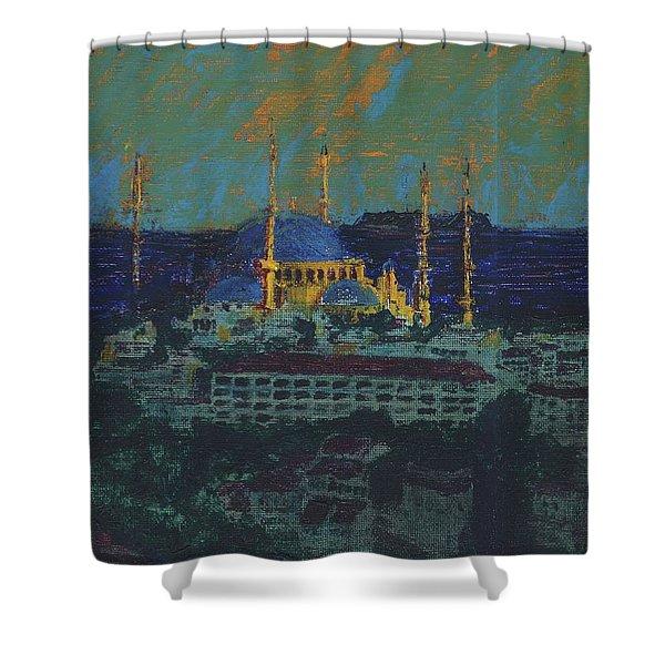 Sea Of Marmara Shower Curtain