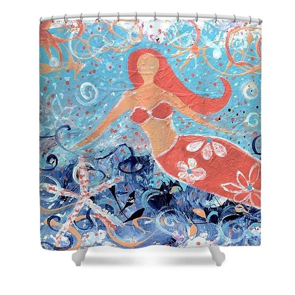 Sea Siren Shower Curtain