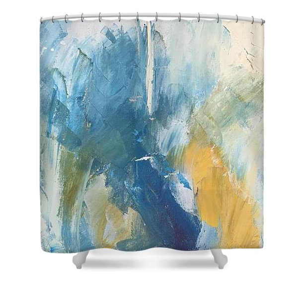 Sea Sky Sun Shower Curtain