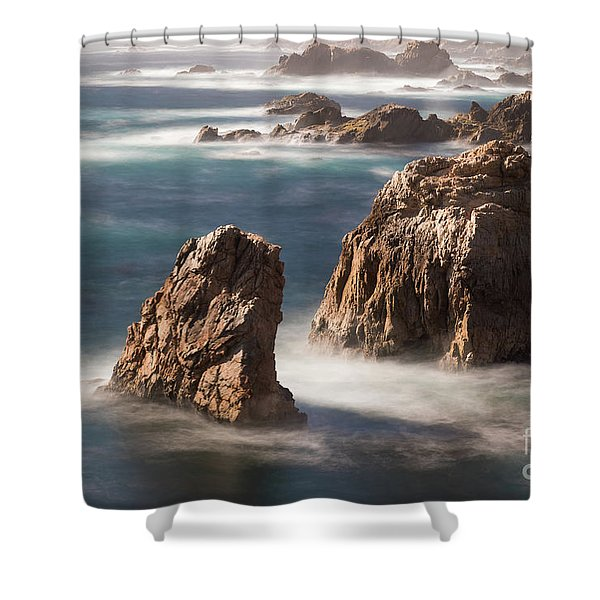 Sea Stacks  Shower Curtain