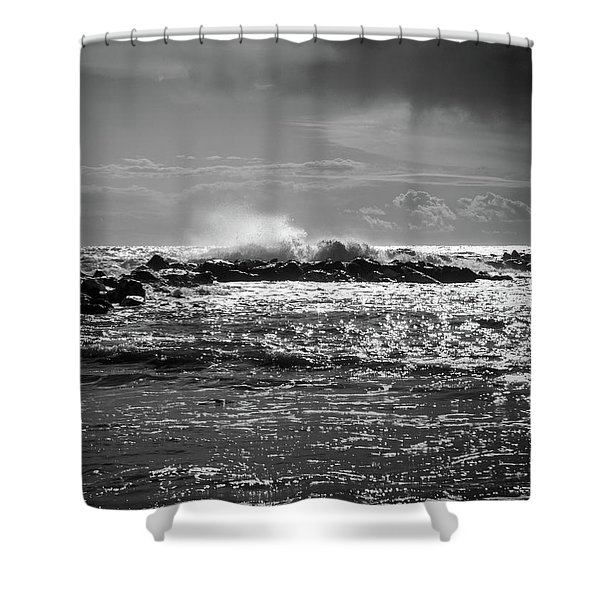 Sea Storm Shower Curtain