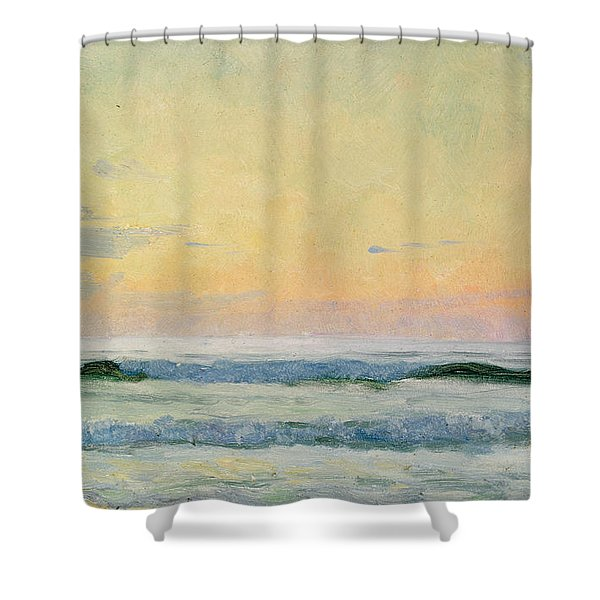 Sea Study Shower Curtain