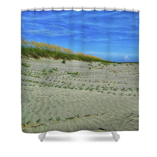Sea Swept Shower Curtain
