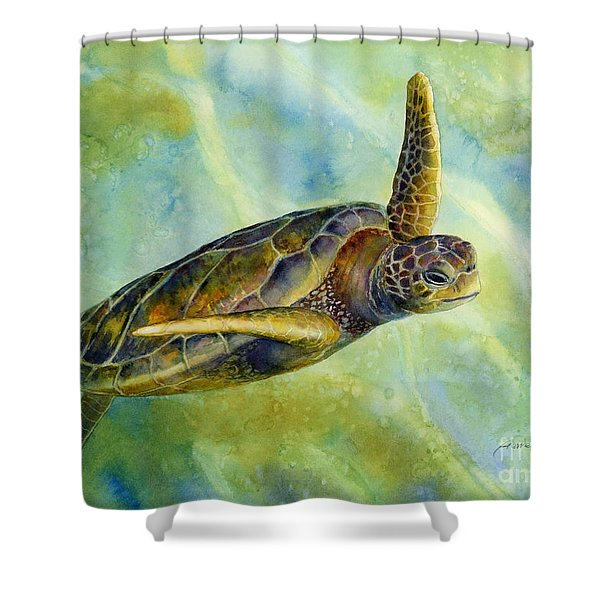 Sea Turtle 2 Shower Curtain