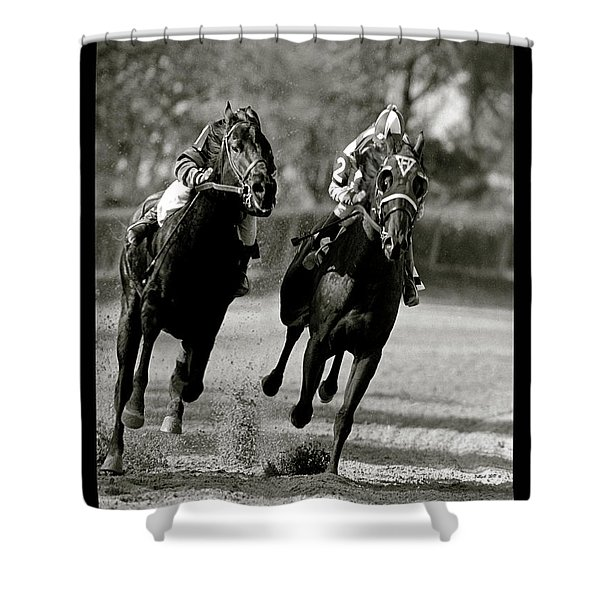 Seabiscuit Vs War Admiral, Match Of The Century, Pimlico, 1938 Shower Curtain