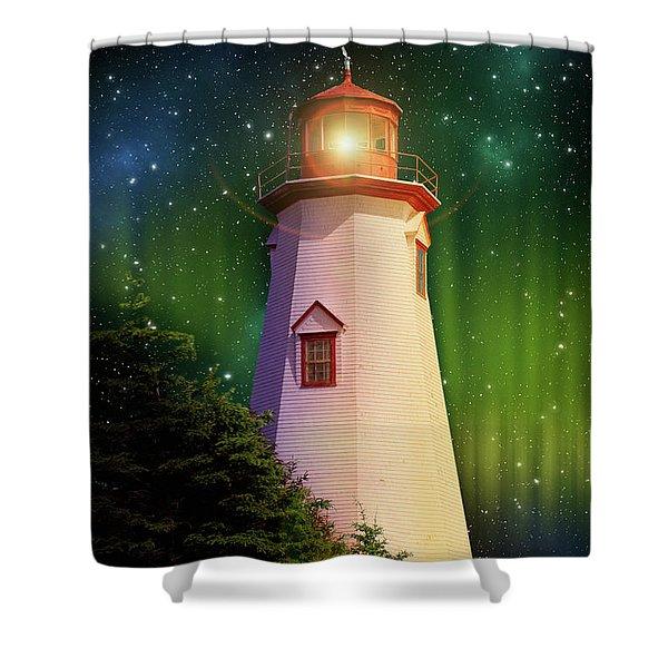 Seacow Head Nighthouse Shower Curtain
