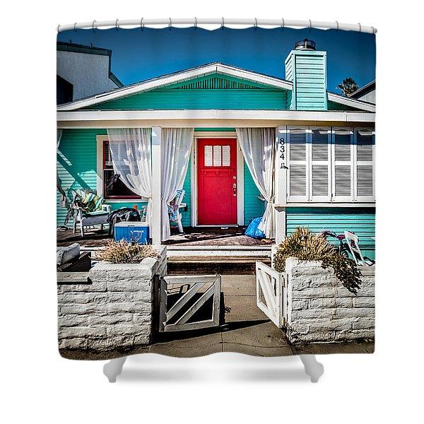 Seafoam Shanty Shower Curtain