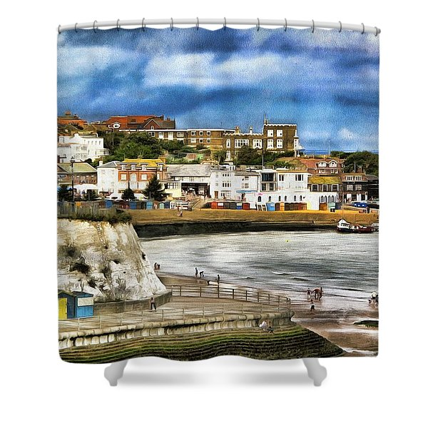 Seafront Broadstairs Kent Shower Curtain