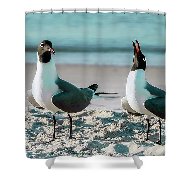Seagull Serenade 4954 Shower Curtain