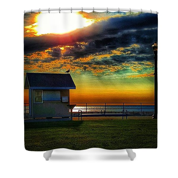 Seagull's House Shower Curtain