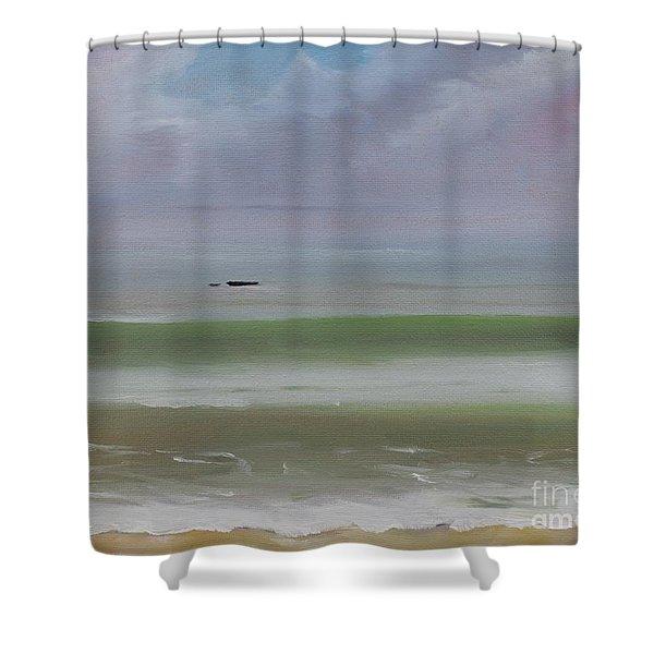 Seal Rock Shower Curtain