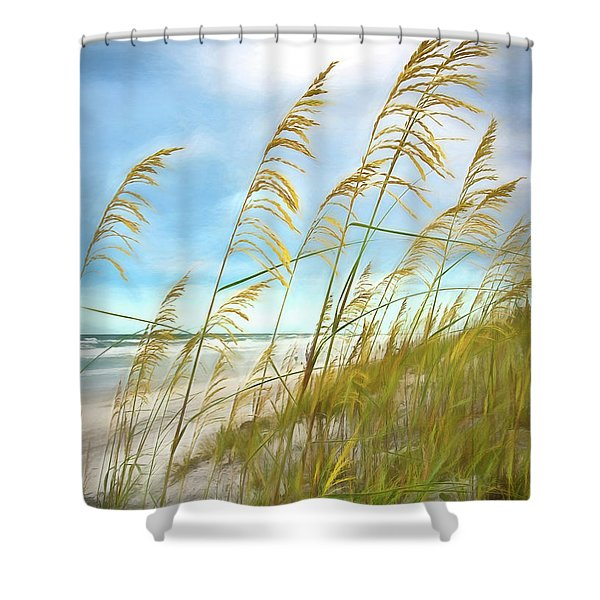 Seaoats Fantasy Shower Curtain