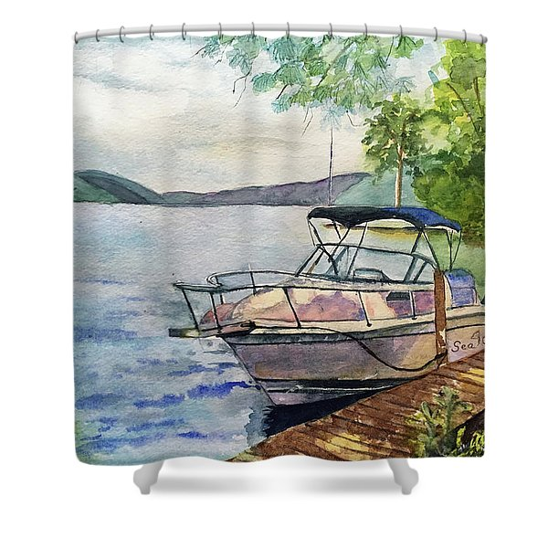Seaquel At Rest Shower Curtain