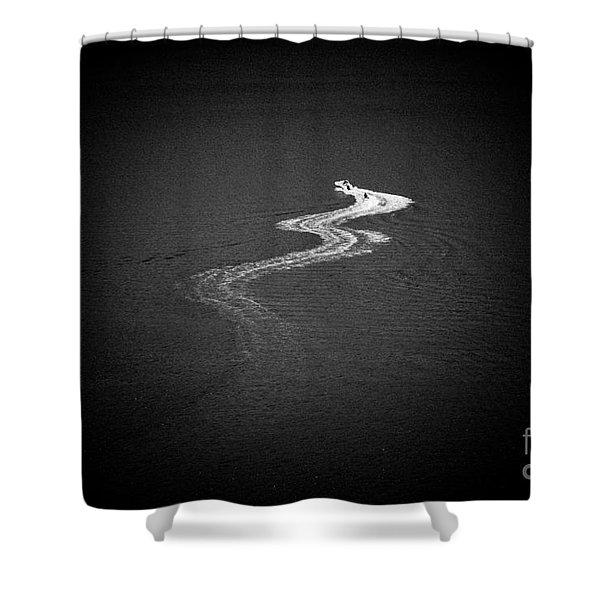 Shower Curtain featuring the photograph Seascape Artmif.lv by Raimond Klavins