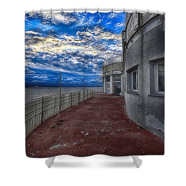 Seascape Atmosphere - Atmosfera Di Mare Shower Curtain